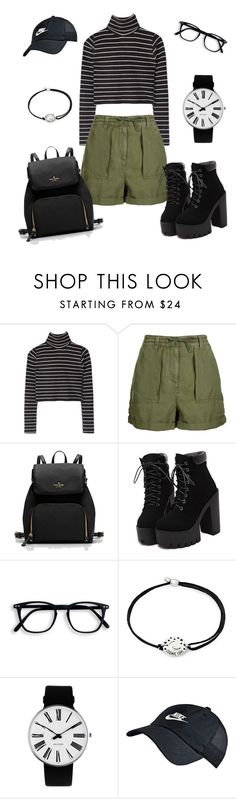 """""""Get Ready for Spring!!!"""" by mississippimsu ❤ liked on Polyvore featuring Topshop, Alex and Ani, Rosendahl and NIKE"""