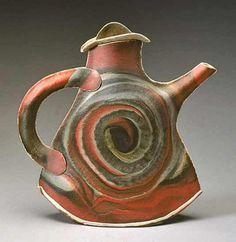 Porcelain Spiral Teapot – Kaete Brittin Shaw
