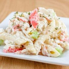 By-The-Bay Cold And Creamy Crab Salad