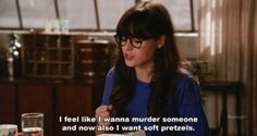 New Girl Jess on the menzies
