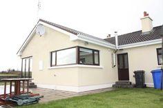 House extension in County Mayo with corner windows & corner doors/windows