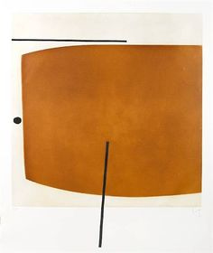 Victor Pasmore, Brown Image Two