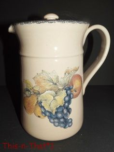 Home And Garden Party Stoneware Country Garden Vines Berry