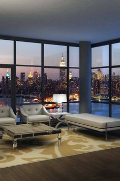 New York City Condo with a view!! http://pinterest.com/intlhomeshow/