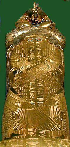 Chambre funéraire - détail du troisième sarcophage