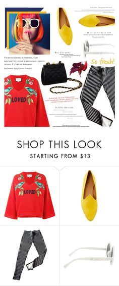 """Untitled #1831"" by zayngirl1dlove ❤ liked on Polyvore featuring Gucci, Le Monde Beryl, Ralph Lauren, Hot Topic and STELLA McCARTNEY"