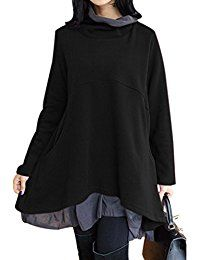 New Bdcoco Women's Cowl Neck Blouse Long Sleeve Layered Loose Pockets Tunic Tops online. Find the perfect Game of Thrones Tops-Tees from top store. Sku YEHP64751FZHA20031