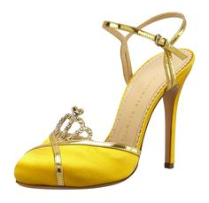 Charlotte Olympia Tiara Sandal: Cinderella's Slipper