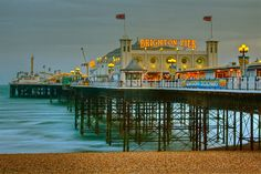 Brighton, England - home to quite possibly the world's best roller coaster!