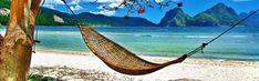 Hammock On The Beach Wallpaper for Free Hammock Beach, Indoor Hammock, Tropical Wallpaper, Beach Wallpaper, Wallpaper Ideas, Beach Images Hd, Imagen Natural, Strand Wallpaper, Palawan Island