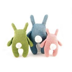 hand made knitted toy