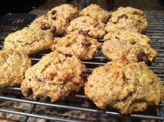 Almond Flour Gluten Free Chocolate Chip Cookies and more almond flour cookies recipes on MyNaturalFamily.com #cookies #recipe