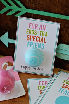 Printable Eggs-tra Special Spring & Easter Tags from  Thirty Handmade Days