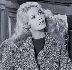 "Brigitte Bardot in ""Love is my profession"" - 1957"