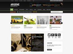 Arsene est un thème magazine responsive basé sur le bootstrap Twitter. Ce thème est parfait pour un magazine ou un blog.