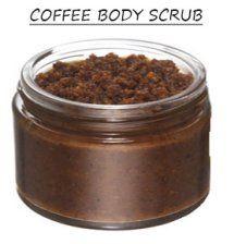 Coffee Body Scrub - DIY Cellulite Scrub, coffee works so good for cellulite and loose skin!