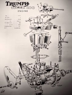 The Tiger T100 Engine.