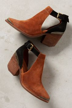 Jeffrey Campbell Woodruff Cutout Ankle Booties