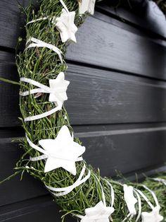 Vaahtokarkkia ja Salmiakkia: Joulukranssi