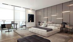 fantasztikus hálószoba nagy gardróbbal Small Bedroom Interior, Modern Master Bedroom, Modern Bedroom Furniture, Modern Bedroom Design, Small Room Bedroom, Master Bedroom Design, Modern Bedrooms, Bedroom Designs, Contemporary Bedroom
