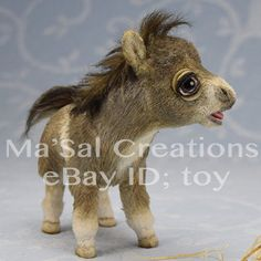 MaSal-original-Dolly-Horse-Falabella-Foal-Direct-from-the-Artist-New-Born