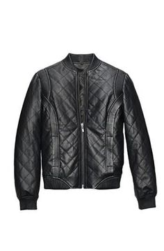 This Truth & Pride Leather Bomber jacket speaks for itself.