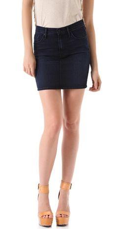 MOTHER High Waist Miniskirt | SHOPBOP