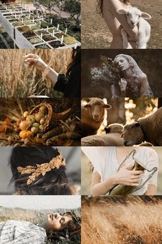 — skcgsra: demeter/ceres aesthetic (more here)