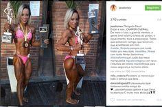 Janaina Lomeu vence campeonato de fisiculturismo e conta sua história de superação