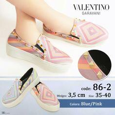 Valentino Slip On Double Sol 4645 35-40 300rb