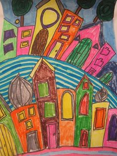 Hundertwasser 3rd grade