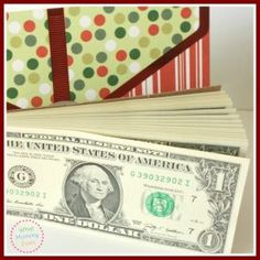 7 Creative Money Gift Ideas - This money notepad is probably my favorite one! It's perfect for the teens on my list. And maybe my college aged babysitter, too! Creative Money Gifts, Creative Christmas Gifts, Gift Money, Money Gifting, Cash Gifts, Christmas Crafts, Christmas Towels, Christmas Cookies, Christmas Ideas