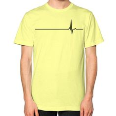 True Heartbeat Unisex T-Shirt (on man)