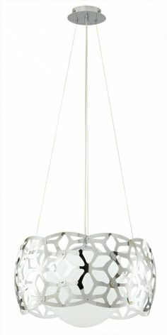 Buy the Eglo Chrome Direct. Shop for the Eglo Chrome 1 Light Foyer Pendant from the Oxana Collection - (Bulb Included) and save. All Modern, Modern Contemporary, Modern Design, Mini Chandelier, Chandelier Lighting, Chandeliers, Contemporary Chandelier, Home Lighting, Hanging Lights
