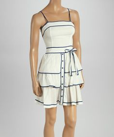 Another great find on #zulily! Bleach & Ink Tiered Sleeveless Dress by Aryeh #zulilyfinds