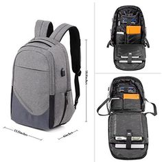 Boys Fashion Backpack Student Back to School Rucksack Laptop College Accessories for sale online