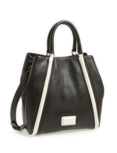MARC BY MARC JACOBS Q - Fran Leather Shopper Tote Shoulder Bag Medium