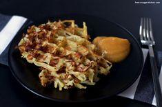 From-Snuggs-Kitchen - Essen aus Hessen und dem Rest der Welt: Wir retten: Kartoffeln - hier: Kartoffelpuffer aus dem Waffeleisen