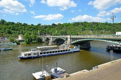 Prague : Svatopluk Čech Bridge  ( Čechův most ) by Pantchoa, via Flickr