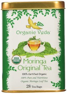 Organic Moringa Original Tea - 28 Bags. USDA Certified Organic. Organic blend of Nutritious Moringa Leaf tea. Original and Authentic. -- Check this awesome image @ : Fresh Groceries