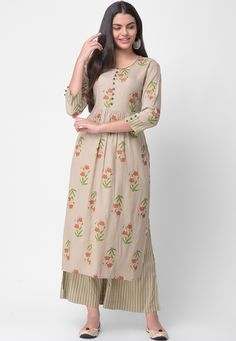 Women's kurtis online: Buy stylish long & short kurtis from top brands like BIBA, W & more. Simple Kurti Designs, Kurta Designs Women, Kurti Neck Designs, Kurti Designs Party Wear, Blouse Designs, Kurti Patterns, Dress Patterns, Salwar Pattern, Indian Designer Outfits