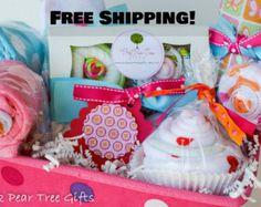 baby shower gift basket – Etsy