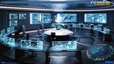 Spaceship Interior, Futuristic Interior, Spaceship Design, Futuristic Architecture, Futuristic Technology, Technology News, Technology Design, Oeuvre D'art, Game Room