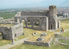 Rozafa Castle In Shkodra, Albania