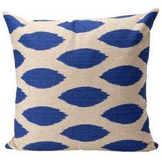 Decorative Pillow Cover  Ikat by elisabethmichael