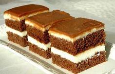 LoveAffair Cakes by mirela …: Milk Kocke / Milk Squares Albanian Recipes, Croatian Recipes, Baking Recipes, Cookie Recipes, Dessert Recipes, Food Cakes, Cupcake Cakes, Romanian Desserts, Kolaci I Torte