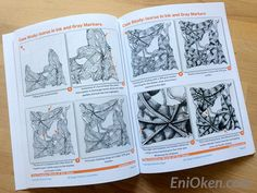 Learn to shade Zentangle® • enioken.com