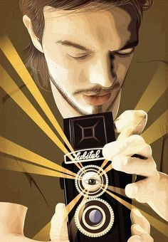 vector portrait inspiration