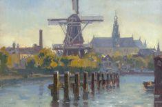 Schilderen in Haarlem | Hans Versfelt