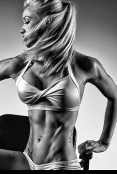 Sexy Fitness Girls That Can Kick Your Butt ... perfect amount of sexy & fitness all in one ;)